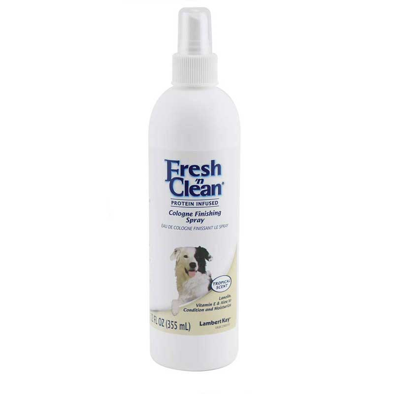 12 oz Fresh 'n Clean Cologne Finishing Spray for Dogs (Tropical Scent)