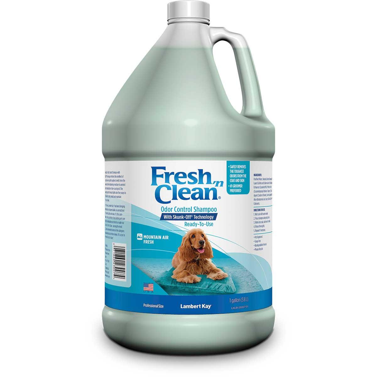 Fresh 'n Clean Odor Control Shampoo with Skunk Off Technology Gallon