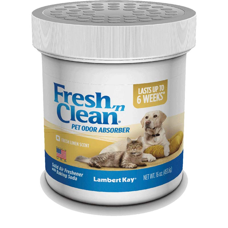Fresh 'n Clean Pet Odor ABSORBER Fresh Linen 16 oz Jar