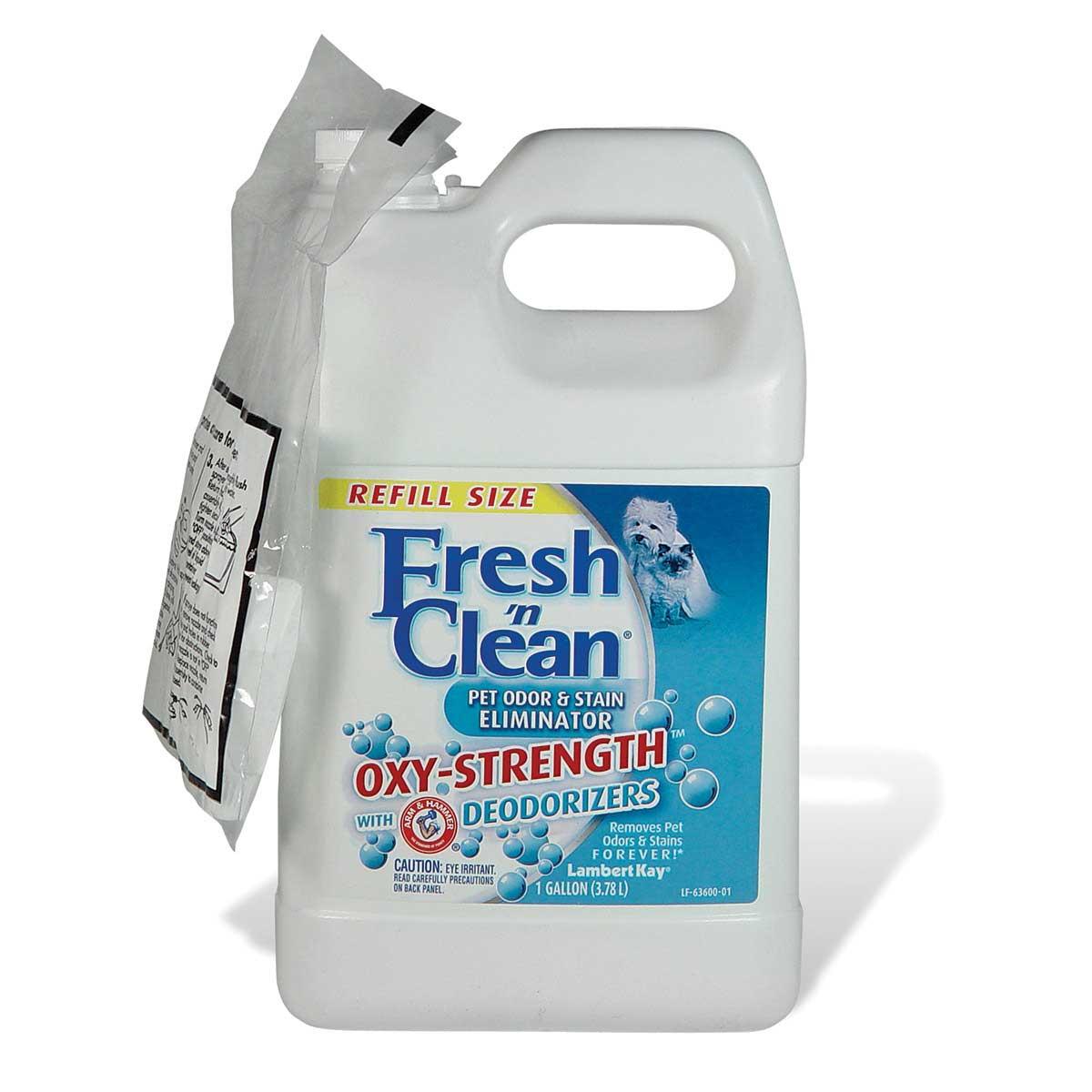 Fresh 'n Clean Oxy Strength Odor/Stain Eliminator - Gallon