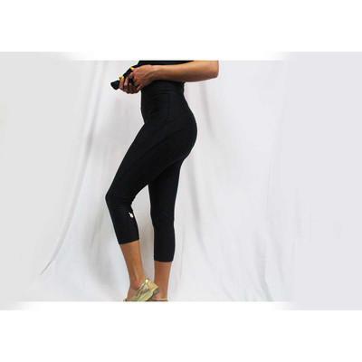 FurRResist Black Capri Leggings hair resistant leggings for groomers