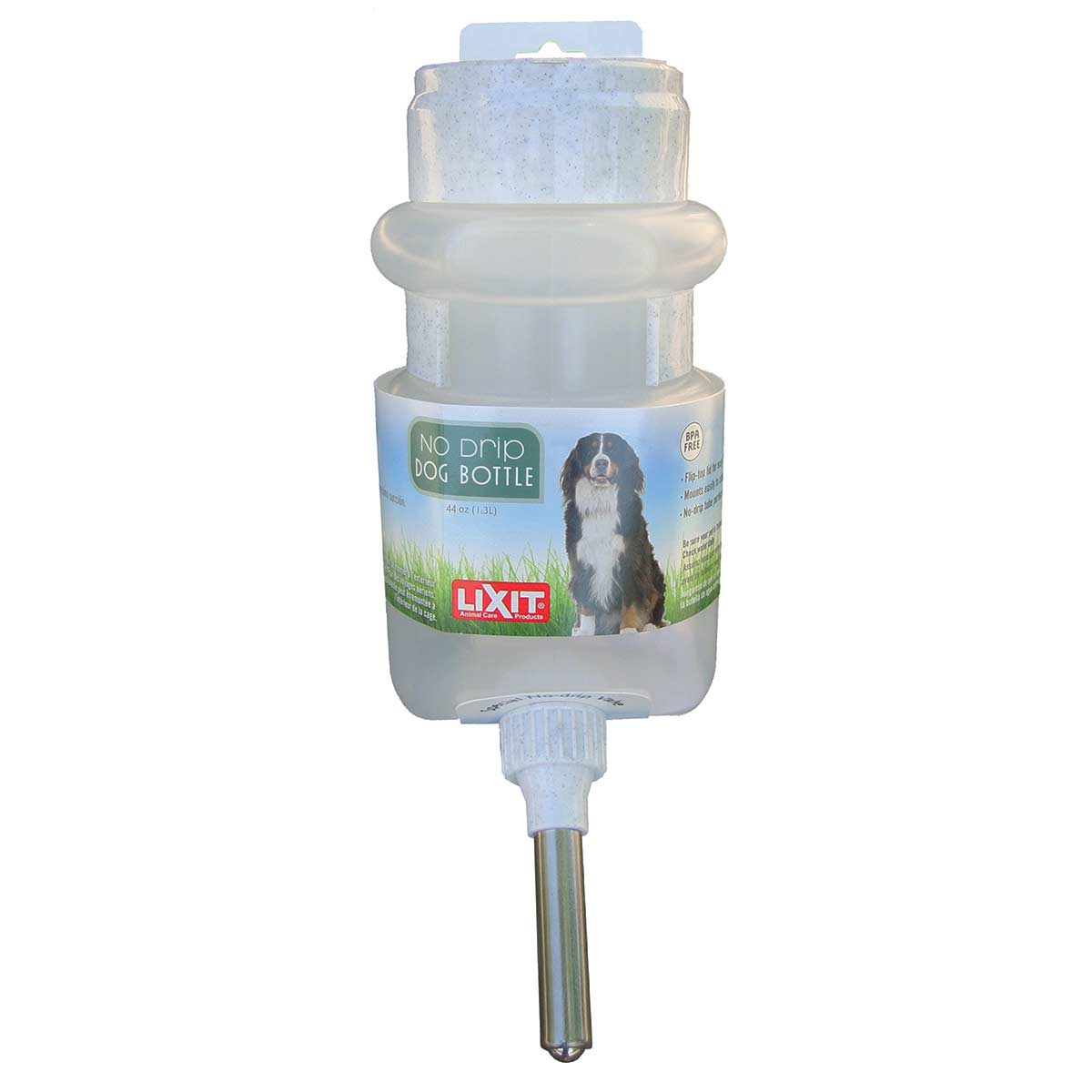 Lixit No Drip Dog Bottle With Ball Tip Valve 44 oz