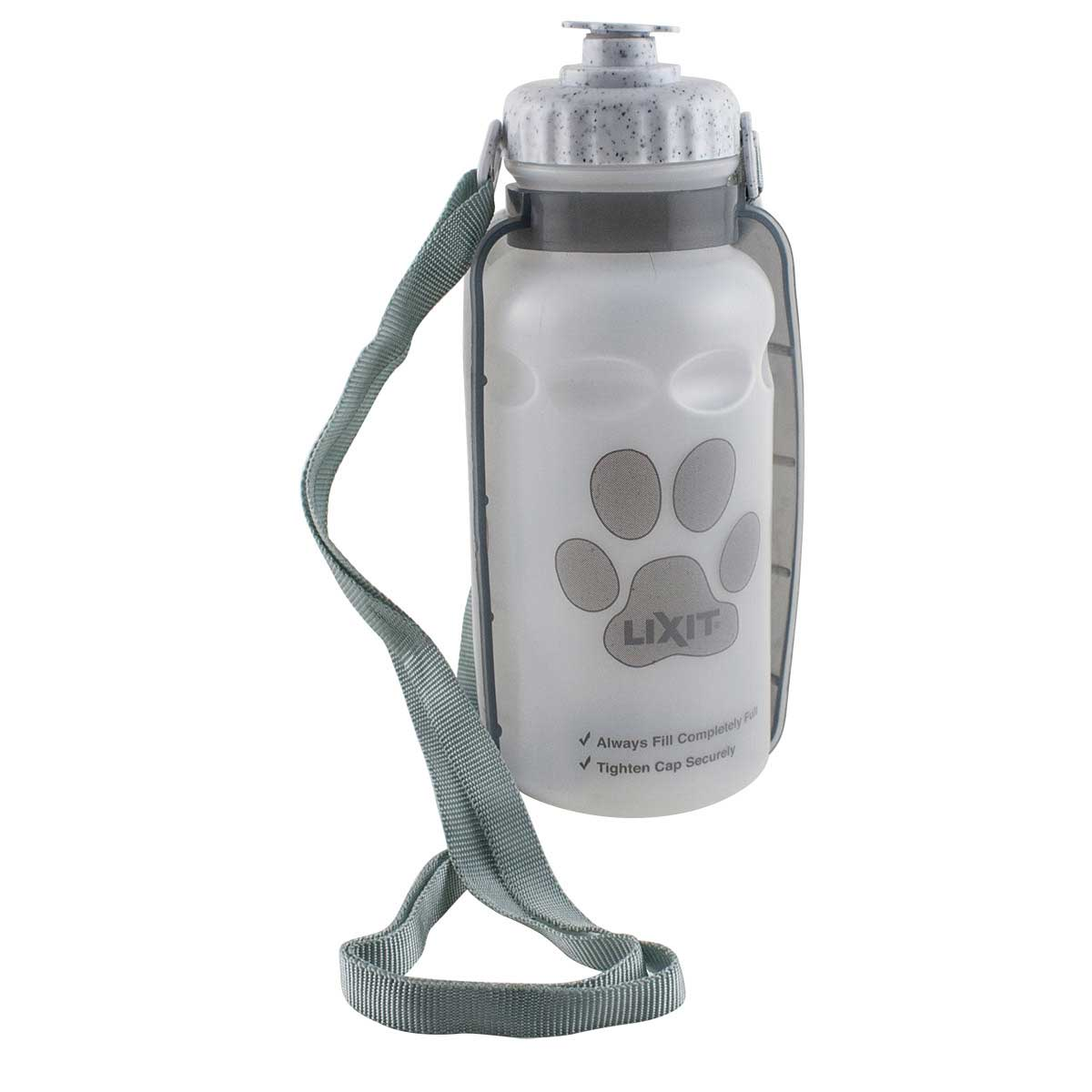 Lixit Thirsty Dog Travel Water Bottle with Bowl