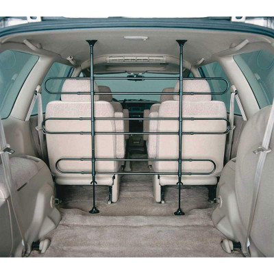 Midwest Vehicle Pet Barrier with 6 Bars - Keep Dogs in the trunk area