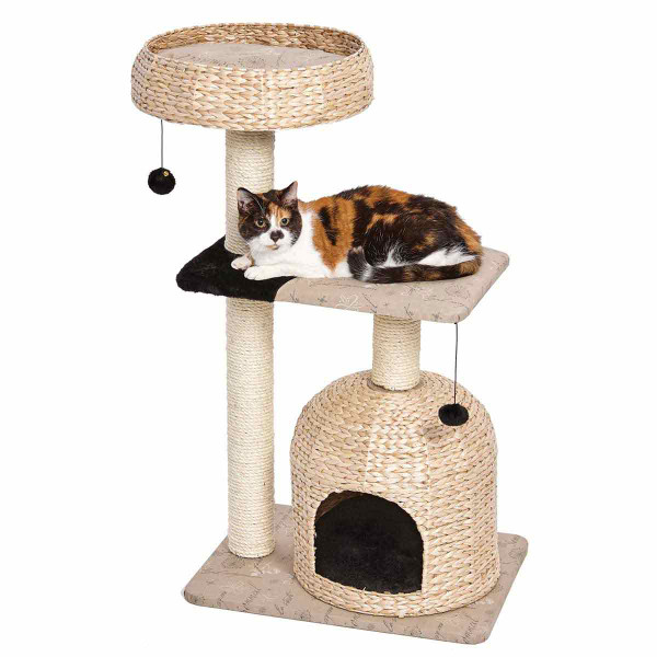 Midwest Feline Nuvo Nest Cat Tower available at Ryan's Pet Supplies