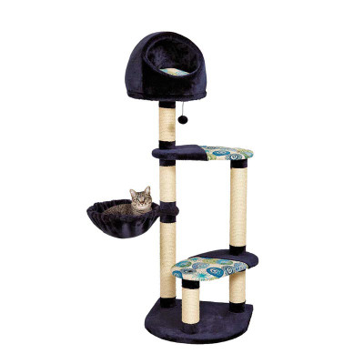 Feline Nuvo Cat Playhouse - Four Platforms