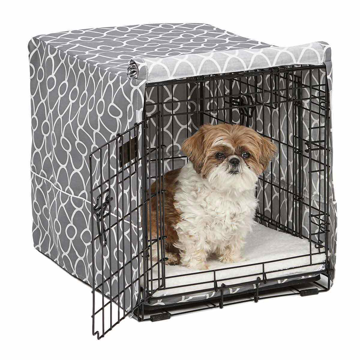 24 inch Quiet Time Crate Covers Calm Pets - available at Ryan's Pet Supplies