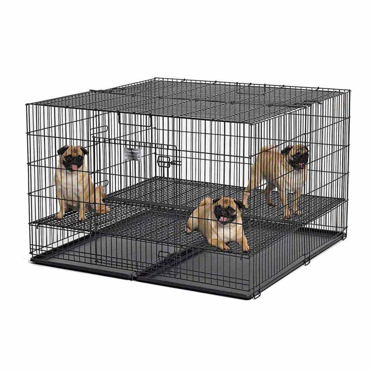 Midwest Puppy Playpen 36 inches by 36 inches by 30 inches