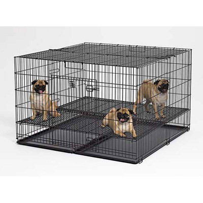 Midwest Puppy Playpen 48 inches by 48 inches by 30 inches