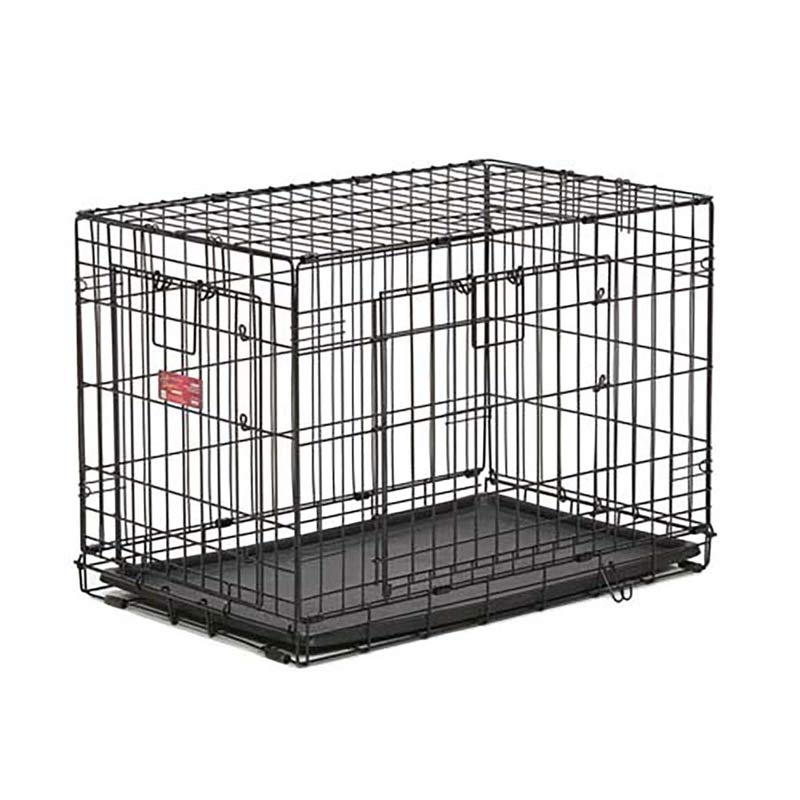 Life Stage A.C.E. Double Door Crate for Dogs - 30.5 inches by 19.5 inches by 21.25 inches