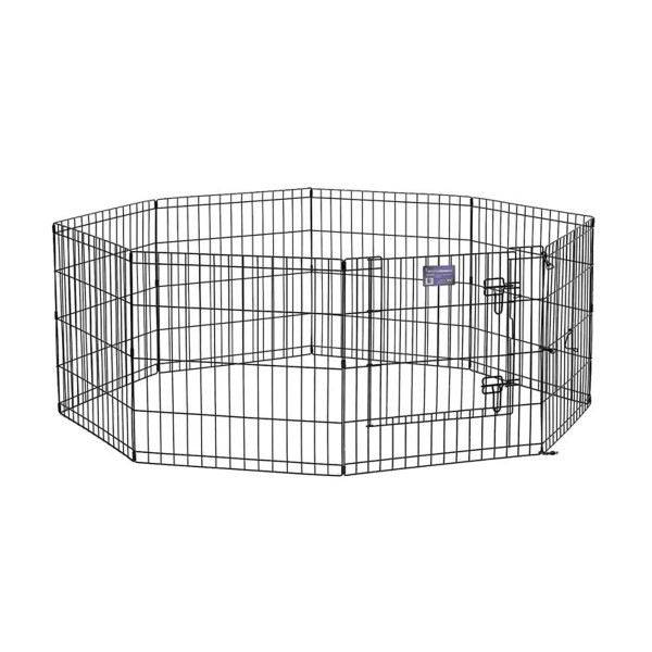 Midwest Step-Thru Exercise Pen With Door - 30 inches by 24 inches