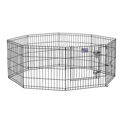 Midwest Step-Thru Exercise Pen With Door 36 inches by 24 inches