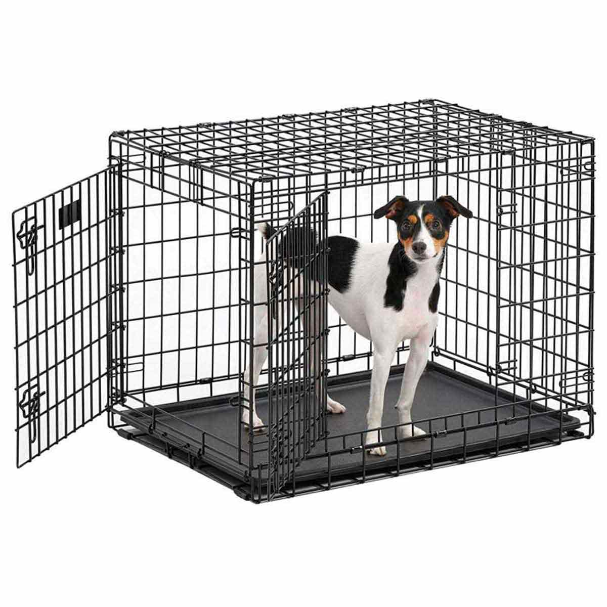 Midwest Ultima Pro-Double Door Crate for Dogs - 31 inches by 21.5 inches by 24 inches