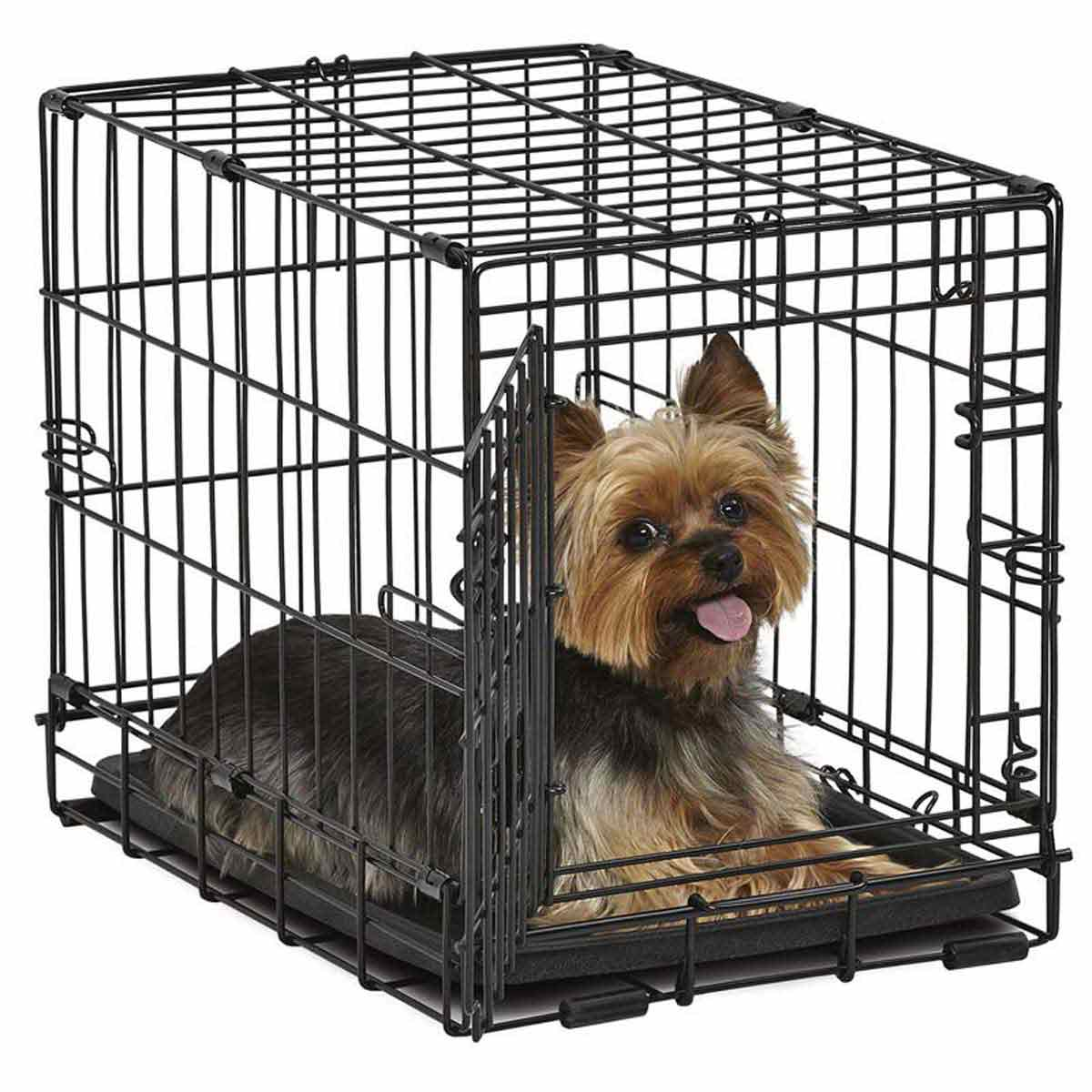 Midwest Contour Crate 18 inch Single Door Small Dog Kennel - 18.75 inches by 13 inches by 14.25 inches