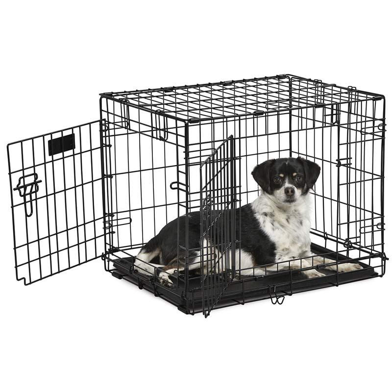 Midwest ConTour Crate Double Door Dog Kennel - 25 inches by 18 inches by 19 inches