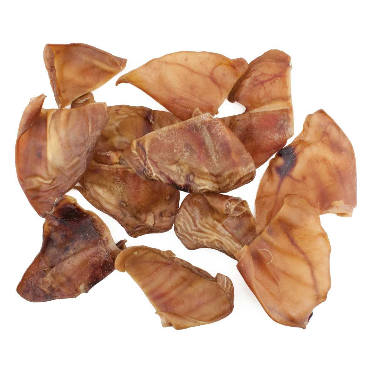 50 Pack of Pig Ears for Dogs - Treats