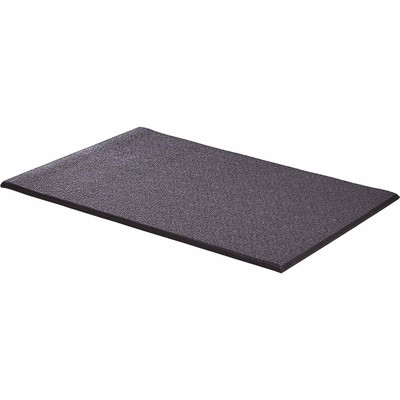 Black Midwest Cushioned Crate Mat for pets