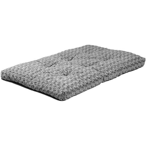 Gray Midwest Ombre Swirl Fur Pet Bed