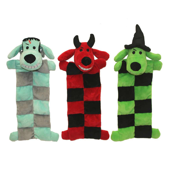 Multipet Loofa Squeaker Mat Halloween Dog Toy