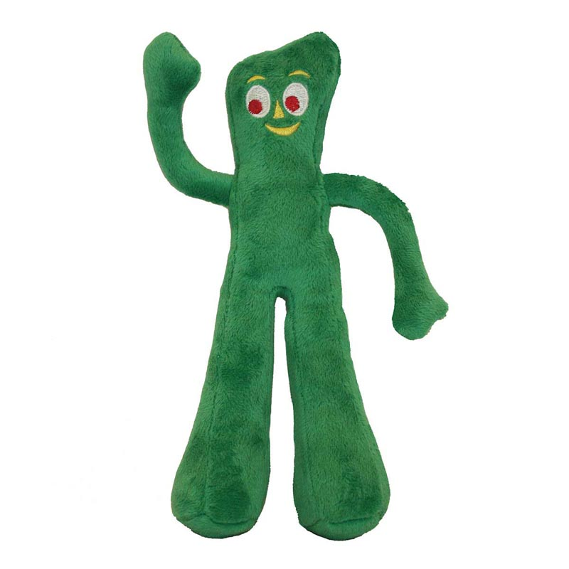 Multipet Plush Gumby 8 inch Toy for Dogs