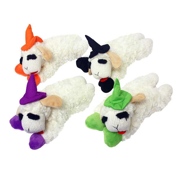 Multipet Holiday Lamb Chop 6 inch Assorted Dog Toys