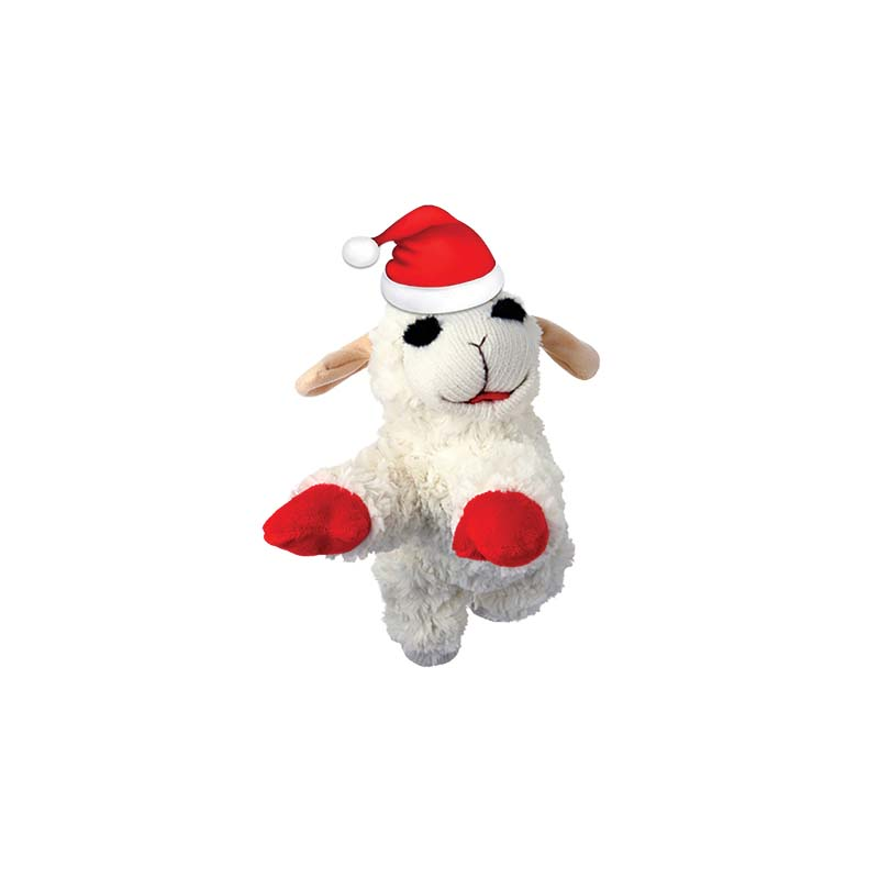 6 inch Multipet Holiday Lamb Chop Dog Toy at Ryan's Pet Supplies
