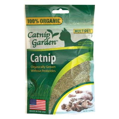 1 oz Multipet Catnip Garden Organic Catnip