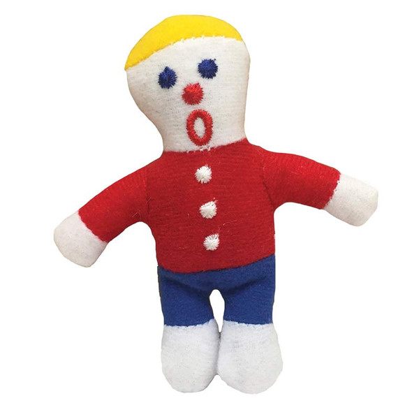 Multipet Mr. Bill Character Cat Toy with Catnip