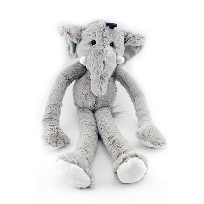 Multipet Swinngin' Safari Elephant Dog Toy - 18 inch