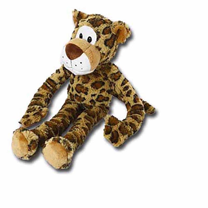 Multipet Swinngin' Safari Leopard Toys for Dogs - 18 inch