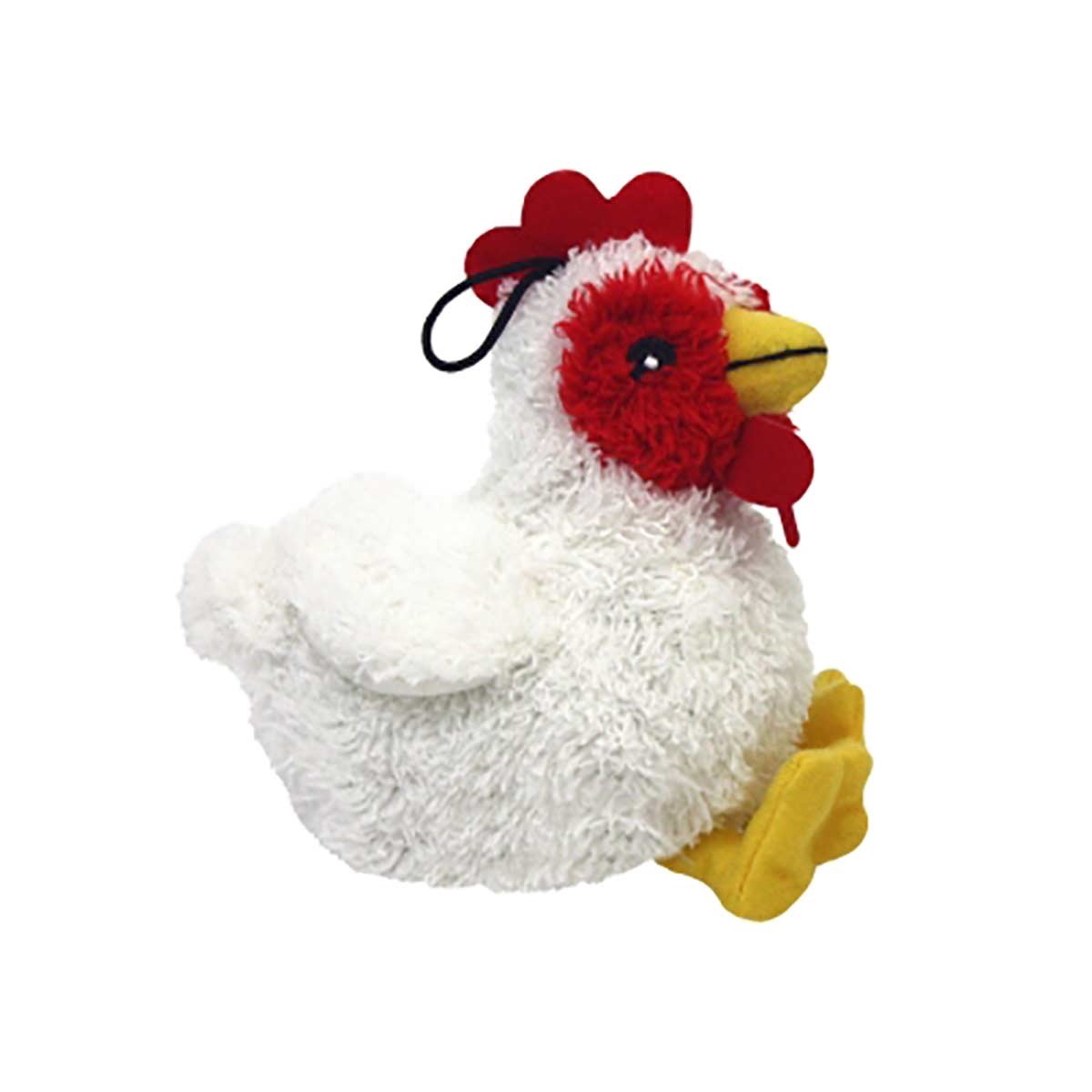 Multipet Look Who Talking Chicken Dog Toy 5.5 inch
