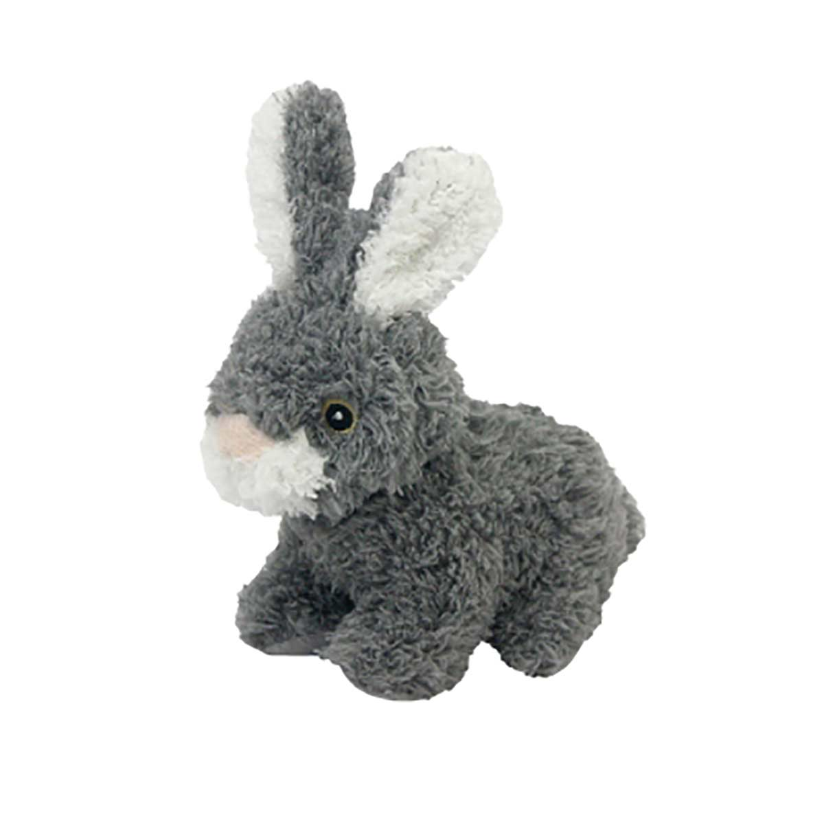 6 inch Multipet Look Who Talking Rabbit Dog Toy