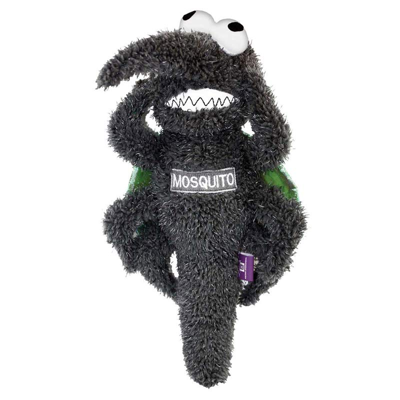 Multipet Squeaky Plush Mosquito Toy for Dogs