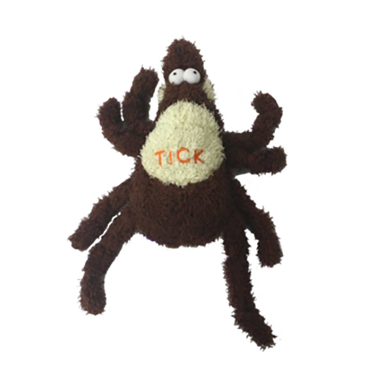 Small/Medium 6 inch Multipet Tick Dog Toy