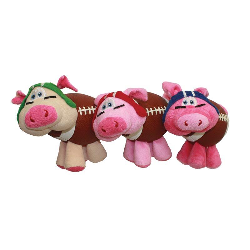 Multipet Pig-Skins Dog Toys - Assorted Colors 8 inch