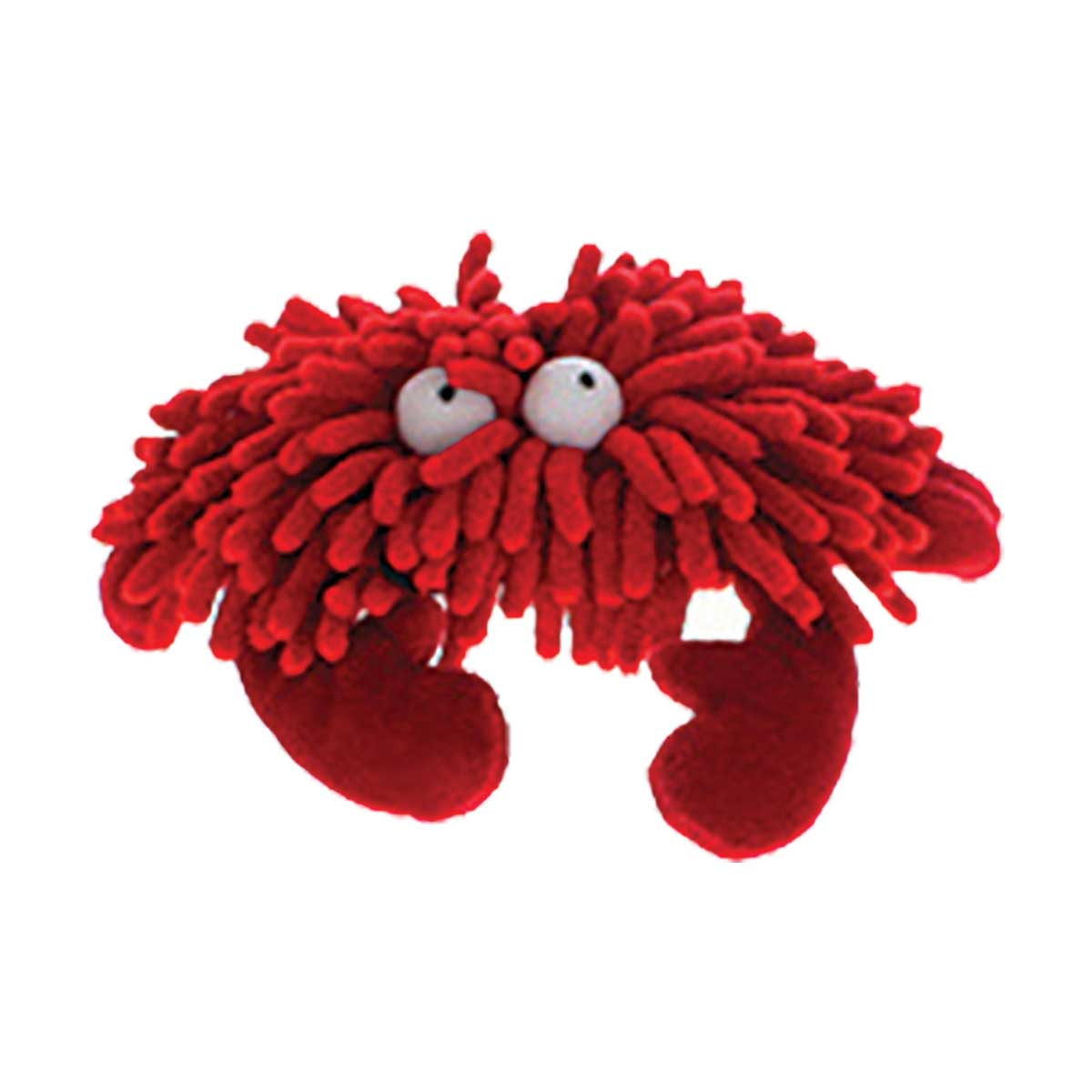 Multipet Sea Shammies Crab Dog Toy - 7 inch