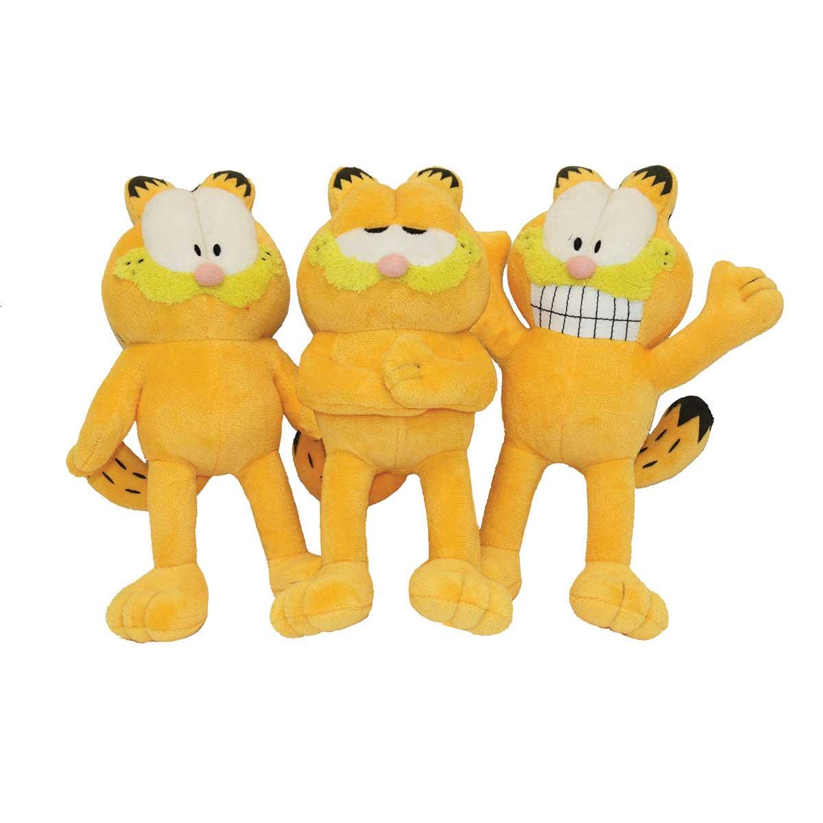 Multipet Garfield Stuffed Dog Toy - 10 inch