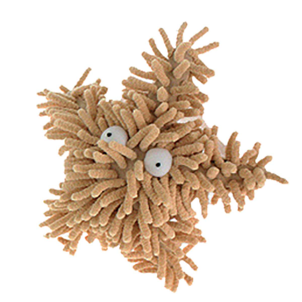 Tan Multipet Sea Shammies Starfish 8 inch Dog Toys