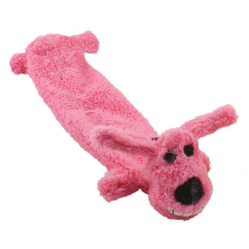 Multipet Loofa Lightweight Light Stuffing Dog Toy 12 inch
