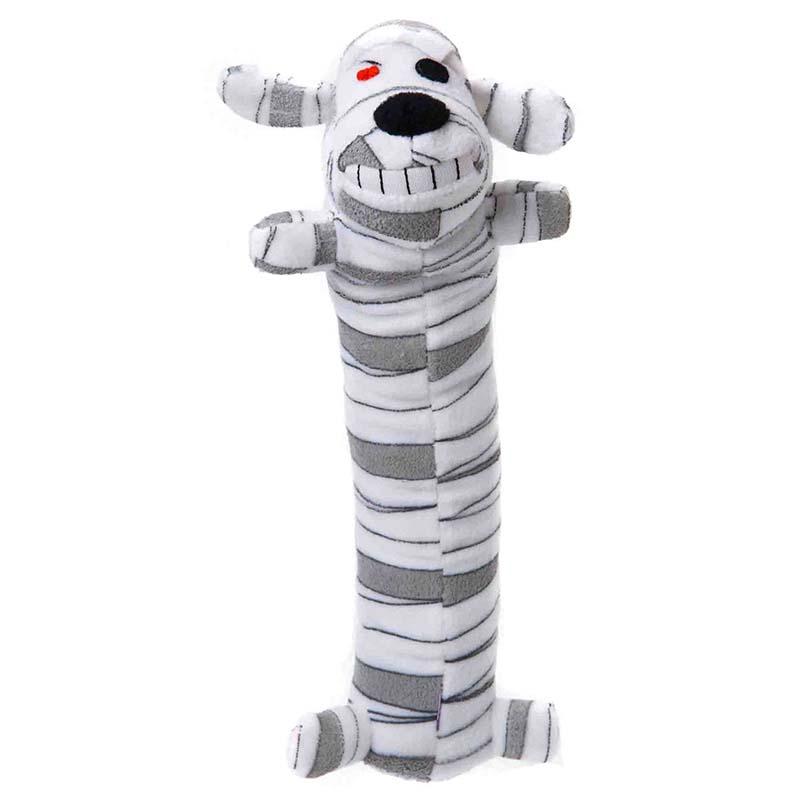 Multipet Loofa Mummy 12 inch Dog Toy