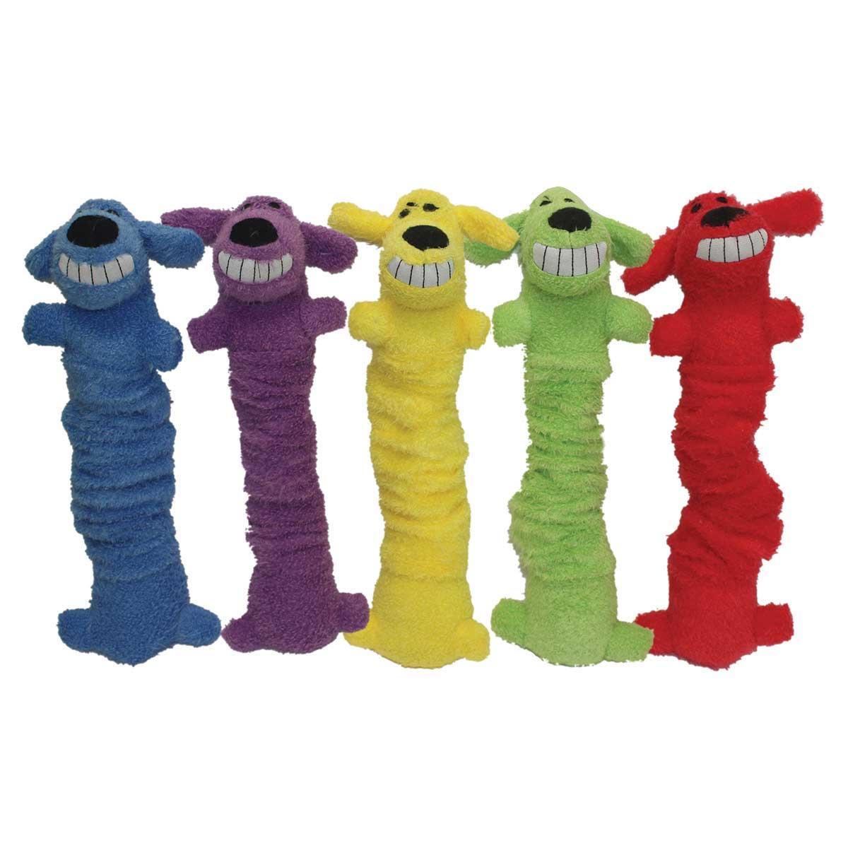 Multipet Loofa Bungee-Scrunchy' Dog Toy 12 inch