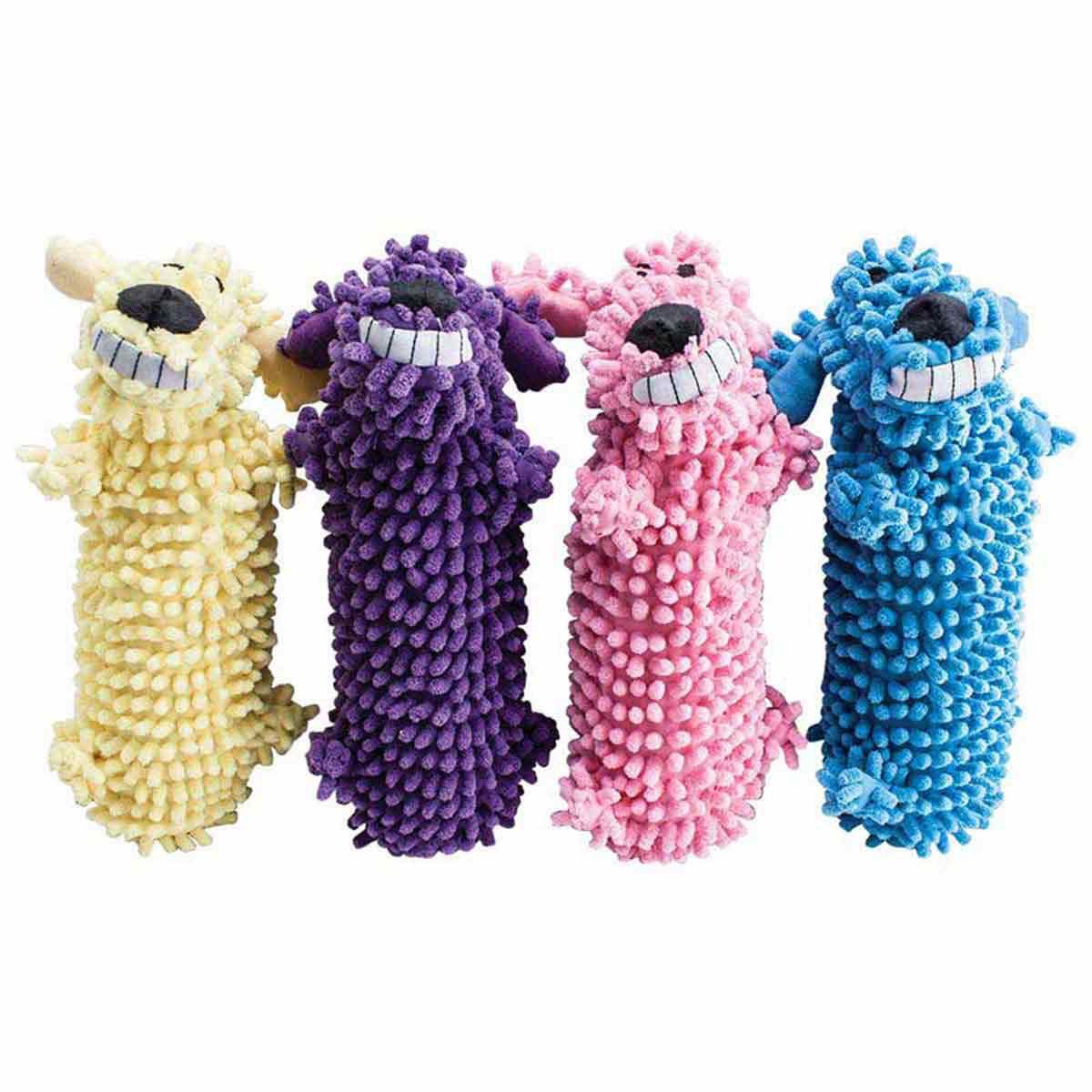 Multipet Loofa Floppy Water Bottle Cruncher Buddy Dog Toy