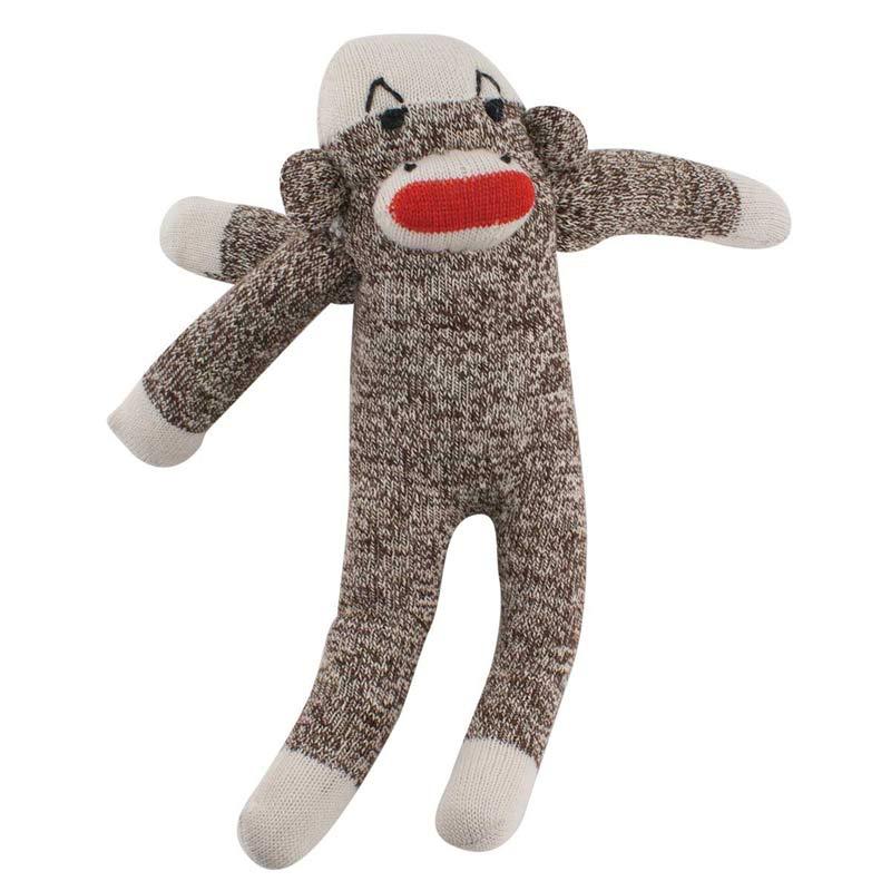 Multipet Sock Pal Monkey for Dogs - 10 inch