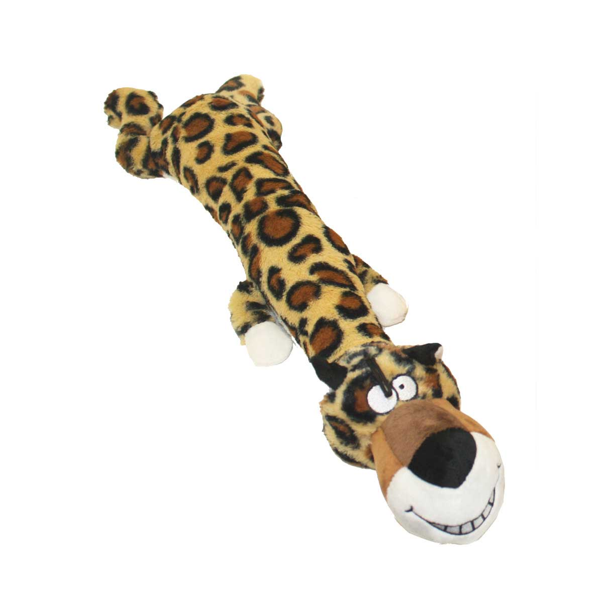 20 inch Multipet Dawdler Dude Leopard Toy for Dogs