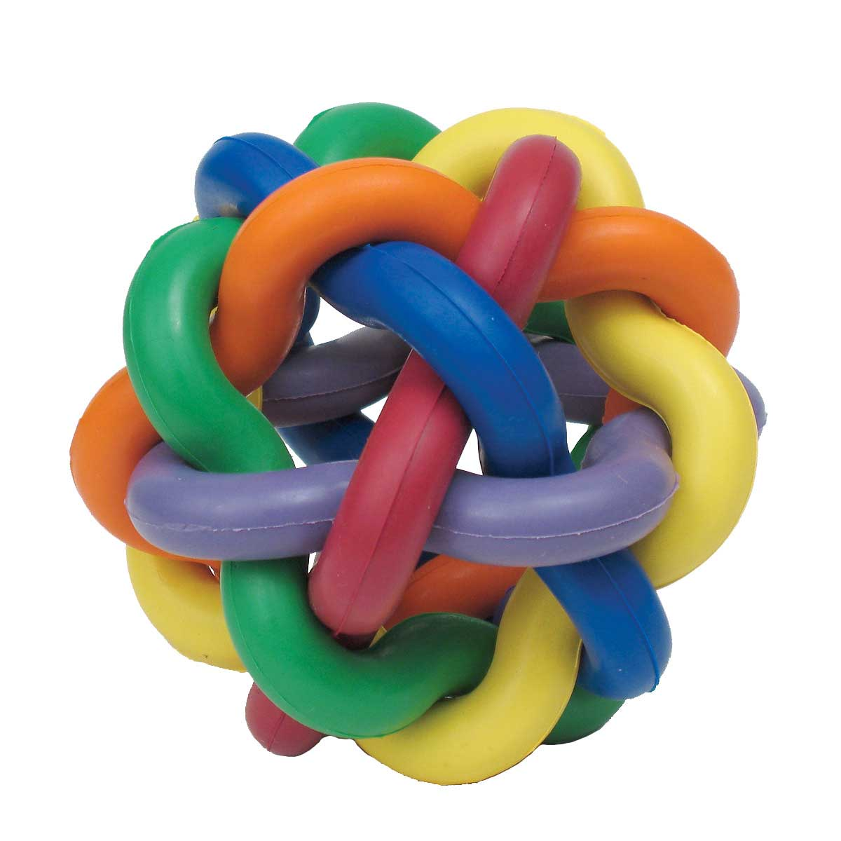Large Nobbly Wobbly Ball Toy for Dogs - 4 inch