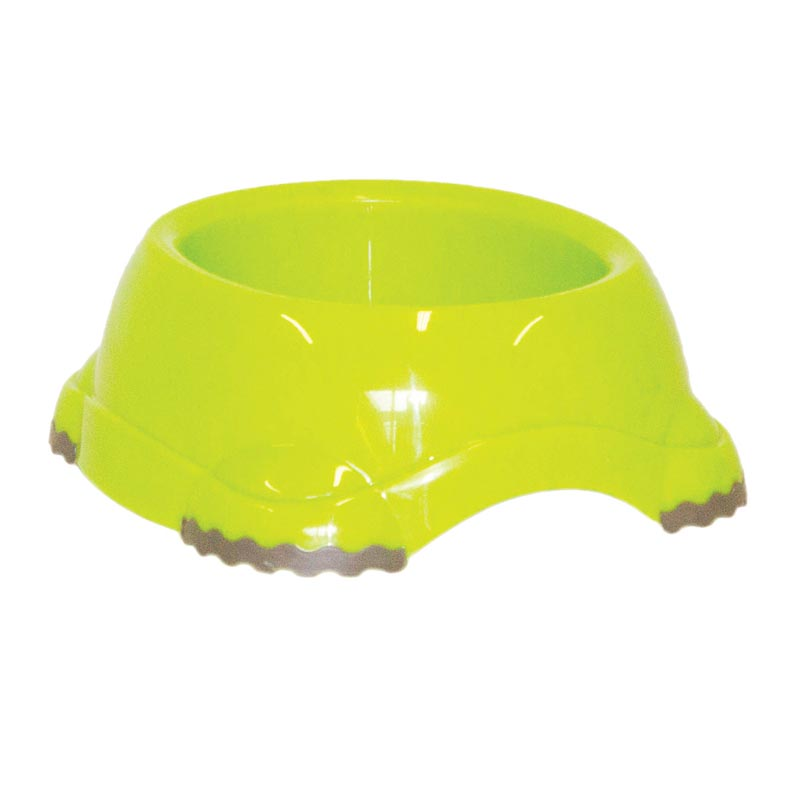 Smarty Bowl Large Dog Bowl Fun Green 5.2 Cup Capacity