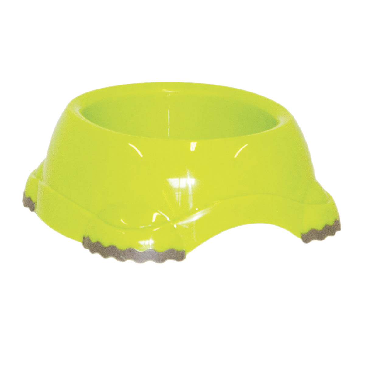 Fun Green Moderna Smarty Bowl Small Dog Bowl - No Skid