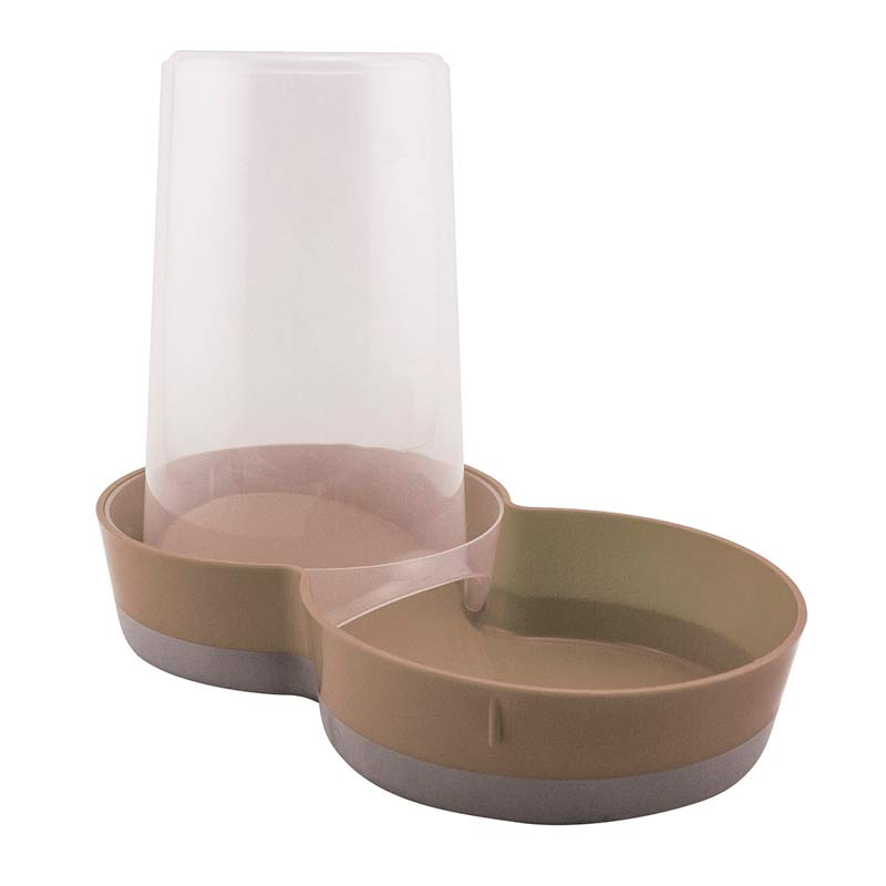Moderna Gravity Feeder or Waterer 51oz Beige