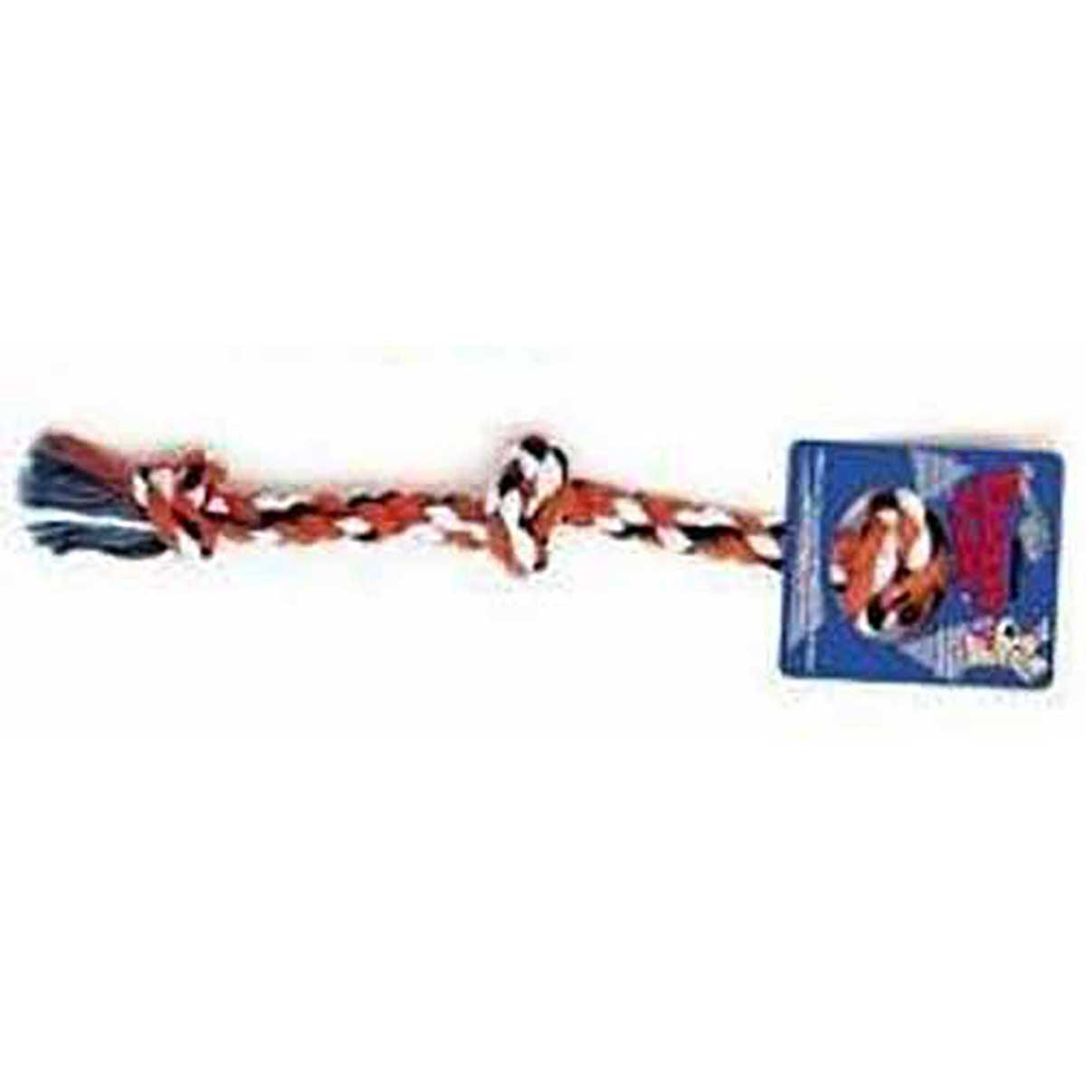 Mammoth Large 3 Knot Colored Rope Tug in Various Colors