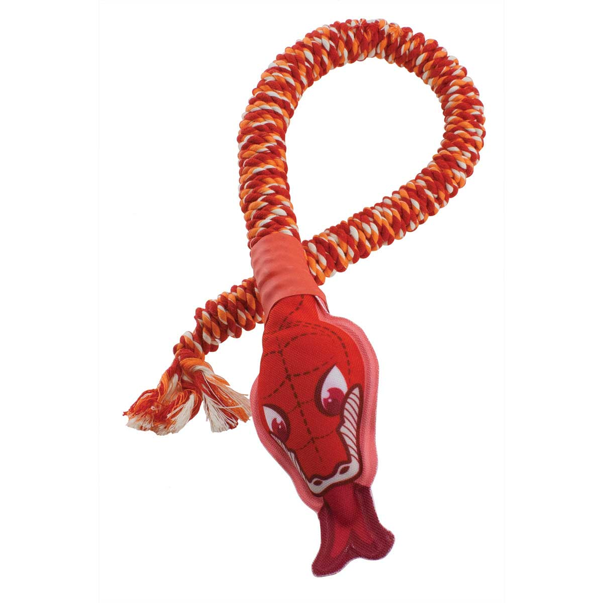 Mammoth Small 28 inch Snakebiter With Squeaky Head Dog Toy